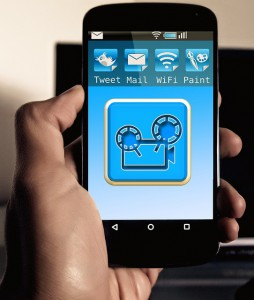 Smart phone or tablet as a control device