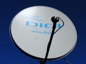 Satellite dish installation and equipment setup