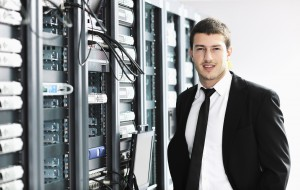 Network and data center with cloud computing